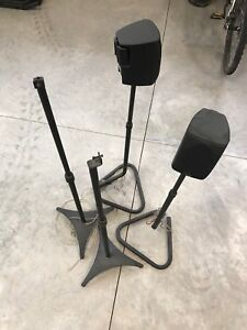 Home theatre speaker stands for sale