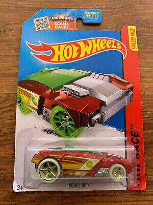 Hot Wheels ~ ROGUE HOG TREASURE HUNT RARE ~ 2015 HW Race Best For Track