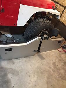 Jeep tj half doors