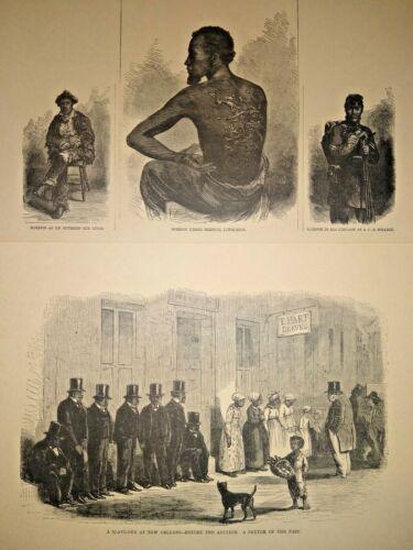 44 Ltd Ed African-American Civil War Prints ~1861-1865 Harper