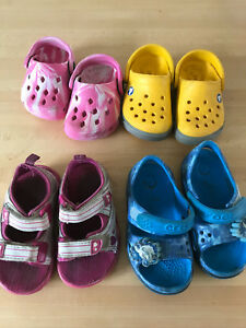 Toddler sandals (size 3,5 &6)