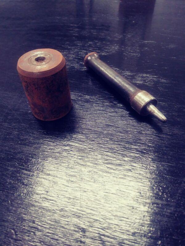 CS OSBORNE GROMMET SETTING Tool for compressing grommets. Vintage classic.