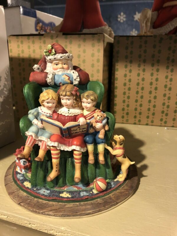 Lang & Wise  Susan Winget   'Santa's Watching Over'  NIB