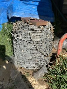 Barbed Wire Reel - Galvanised 470m