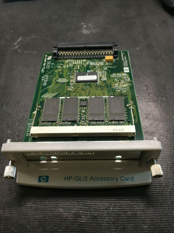 c7776-60002 HP-GL/2 C7776-60002 CARD FOR HP DesignJet 500