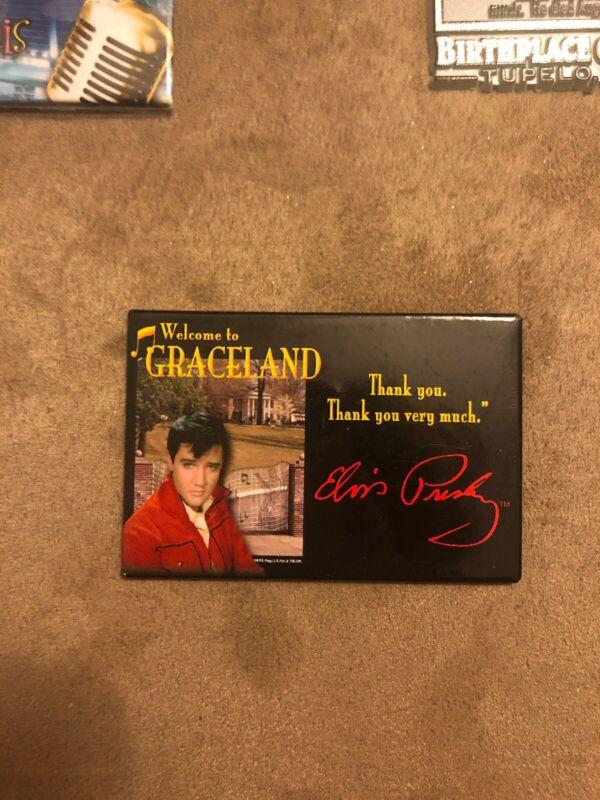 Graceland /Elvis Collector Magnet