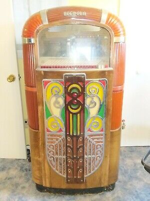 Rockola jukebox 1422 except for tubes looks complete very solid