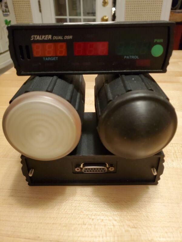 """Applied Concepts Stalker Dual DSR Direction Sensing Police Moving Radar """"KC"""" s/n"""