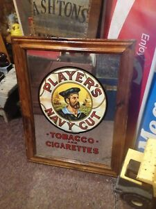 Vintage John Player's Tobacco Mirror