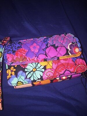 All In One Phone (Vera Bradley All In One Crossbody For I Phone 6 NWT/floral Fiesta )