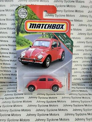 MATCHBOX VW VOLKSWAGEN BEETLE BUG GERMAN COUPE MBX ROAD TRIP RED