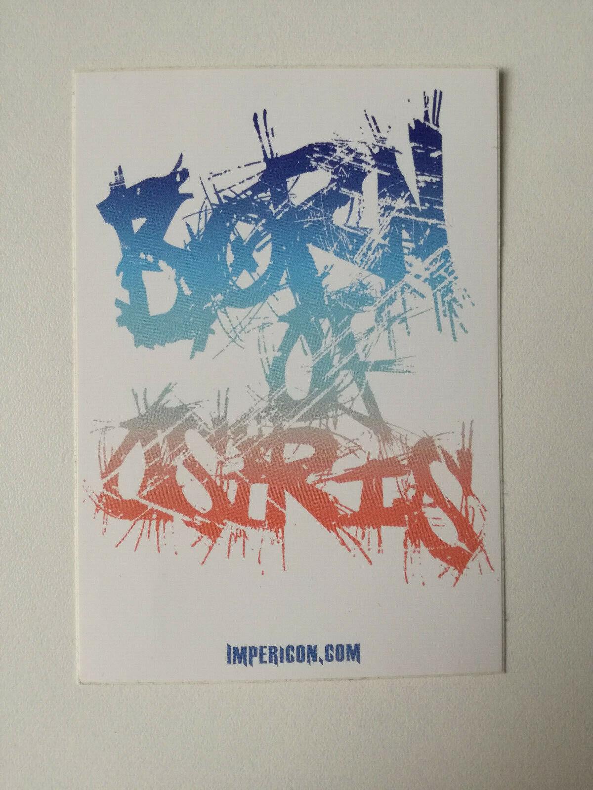 Born Of Osiris BoO Sticker Impericon Aufkleber Musik Band - 1,00 €