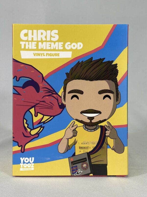 Chris The Meme God #38 YouTooz Limited Edition Figure (SOLD OUT! W/ CODE!)