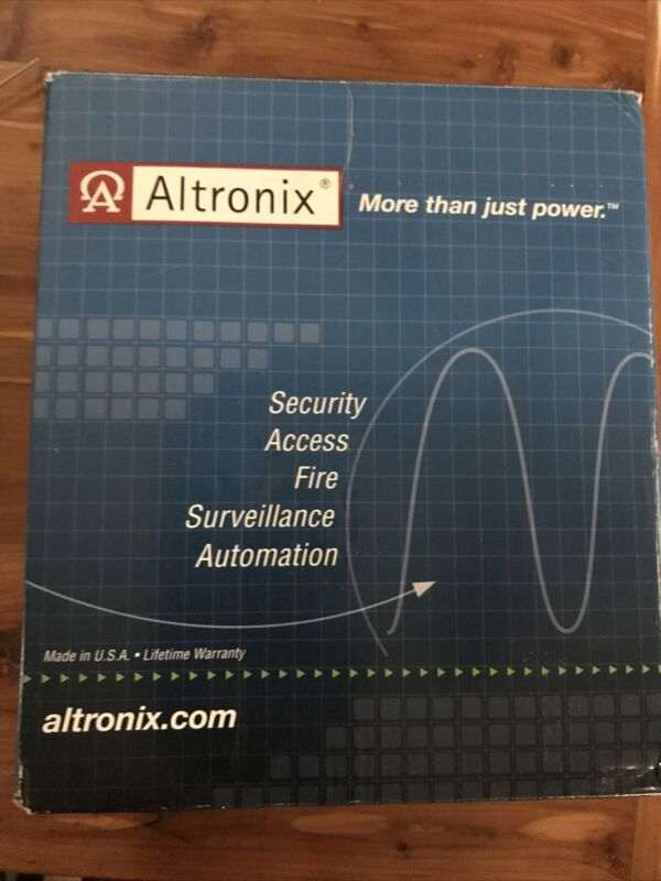 Altronix AL125UL 2-Output Power Supply Charger, 2 PTC Class