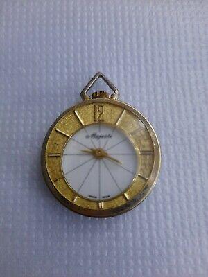 Vintage Majesti Pocketwatch With Velvet Bag