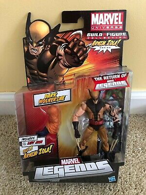 Marvel Legends Dark Wolverine Figure Hasbro 2011 Arnim Zola BAF