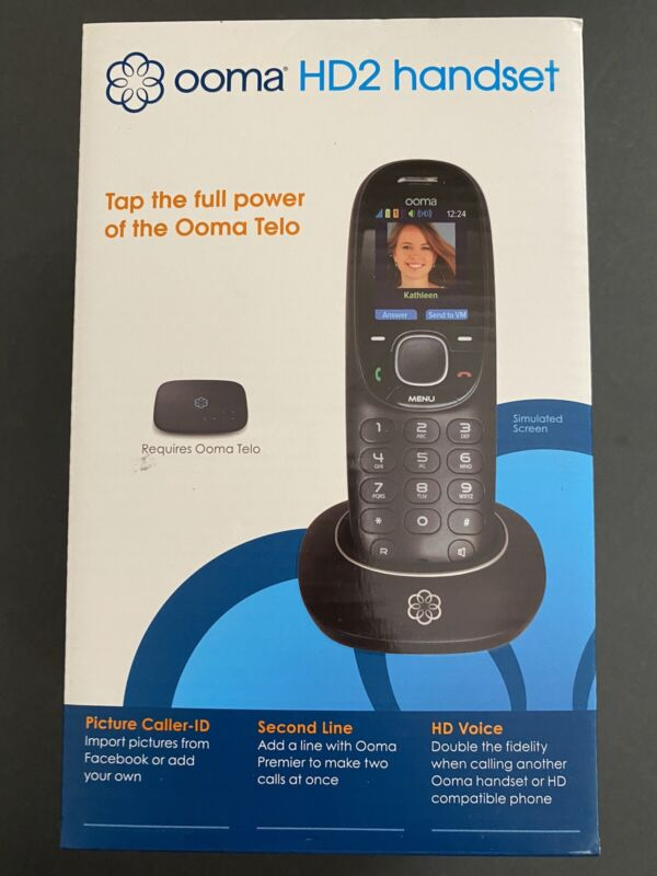 NEW ooma HD2 Wireless Handset, New in Box