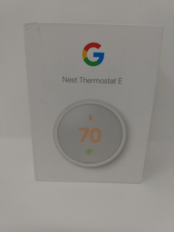 Google Nest Thermostat E -  3rd Generation Nest Thermostat - Works with Alexa