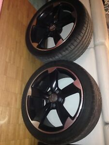 18 inch Audi rims and tires