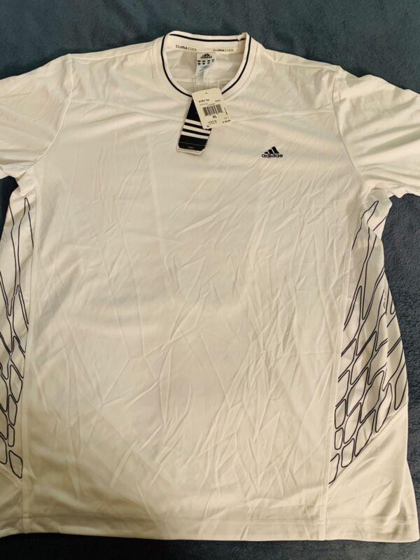 Adidas ADIZERO CREW TEE Tennis FORMOTION Shirt top barricade Clima Men sz XL NWT