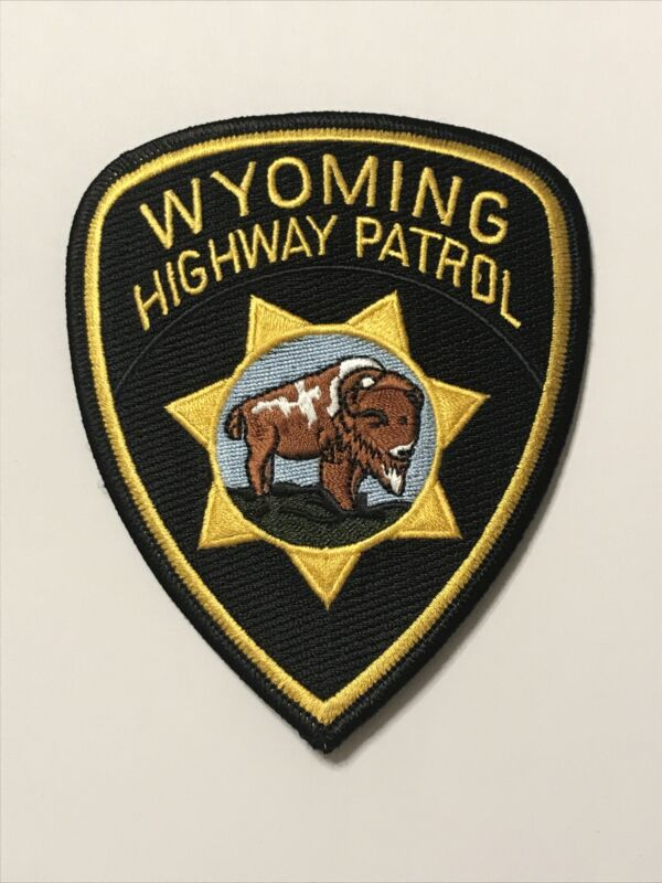 Wyoming Highway Patrol Motor Carrier Patch State Police State Patrol