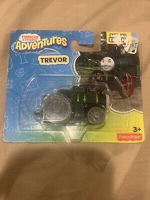 Thomas & Friends Adventures: Trevor Metal Engine New in Package Fisher Price