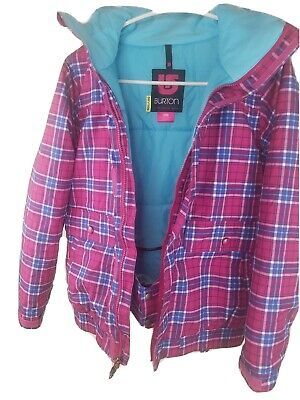 Burton DryRide Women Snowboard Ski Jacket Coat Size L (14/16)
