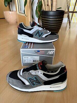 NEW BALANCE M 997 CGB Rockabilly Made In USA Grey Teal UK 9 BNIB 990 998 991 996