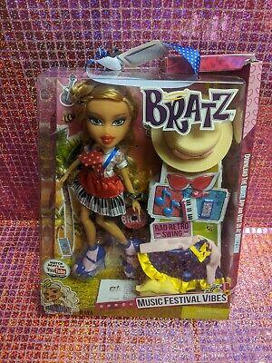 Bratz Music Festival Vibes Doll rad retro swing Raya