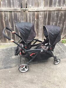 Contour options LT double stroller
