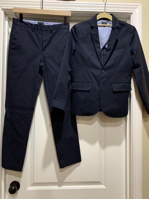 Crewcuts Thompson Flex Chino Suit Navy 12 $120+