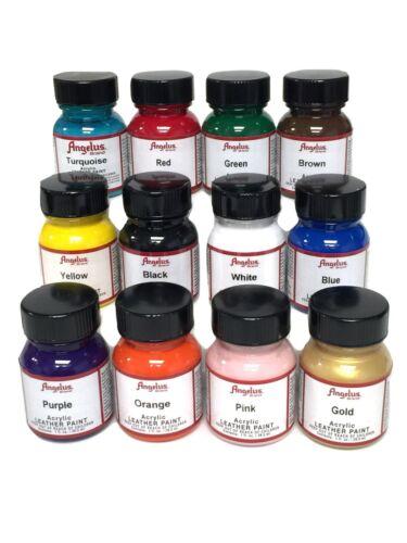 Angelus 1 oz Paint Starter Kit 12 Pack (A720-KIT)