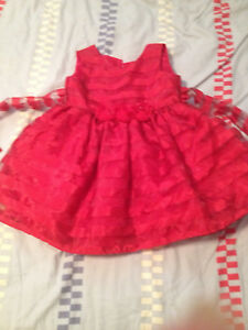 Red dress size 2