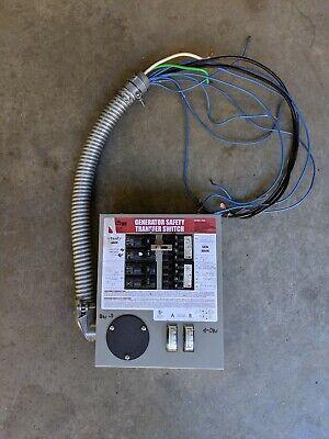 Gen-tran 3028 30-amp Generator Transfer Switch