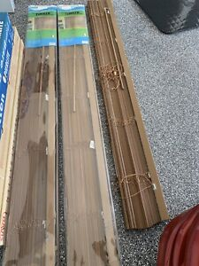 2 ONLY x timber Venetian blinds (located Kedron)