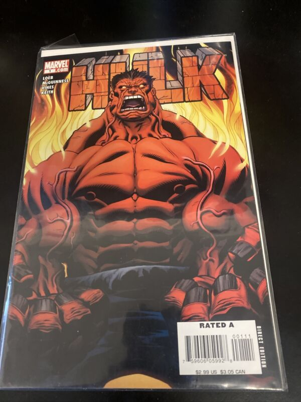 Hulk 1, Marvel 2008, 1st Red Hulk