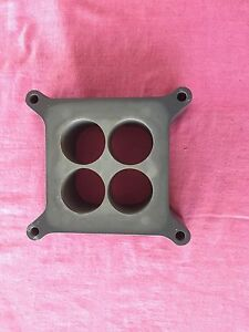 "Ex NASCAR ported 4 hole 2"" carb spacer Ford Holden Chev Mopar AMC Kalbar Ipswich South Preview"