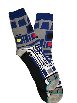 New Star Wars R2D2 Socks - One Size - USA SHIPPING