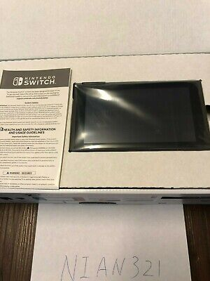 New Replacement  Nintendo Switch 32GB Grey Original System Console Tablet Orange