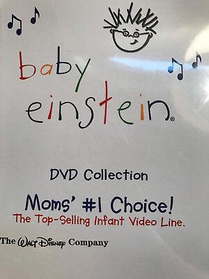 - BABY EINSTEIN Mom's Choice Disney DVD Set Collection Kids Children Music