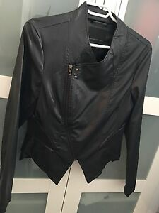 Vero Moda Asymmetrical like leather coat