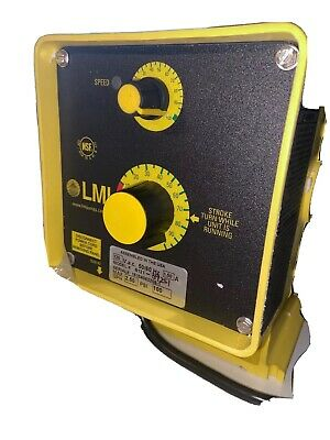 Lmi Milton Roy B121-392s1 Electronically Controlled Metering Pump