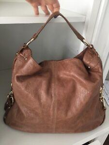 $700 REBECCA MINKOFF Large leather shoulder purse