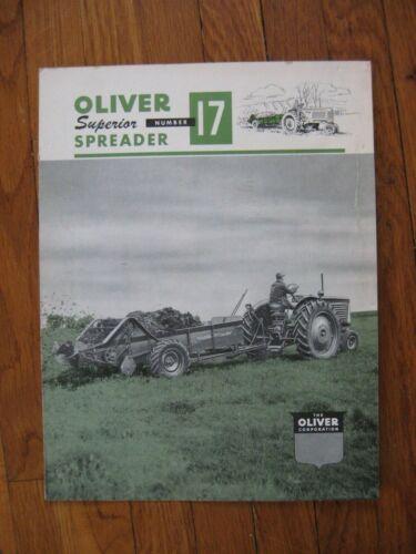 Oliver 17 Manure Spreader Brochure