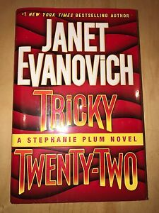 Janet Evanovich Tricky Twenty-One Hardcover Book