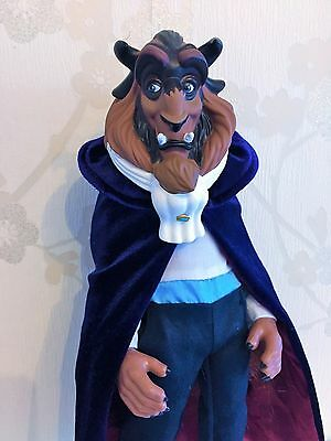 """Disney Store BNWOB 12"""" Winter Beast Doll Deluxe Beauty and the Beast"""