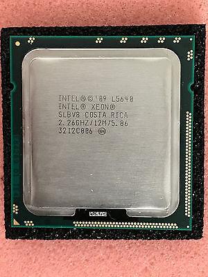 Intel Xeon L5640 SLBV8 2.26GHz 12MB 5.86GT/s LGA 1366 Six-Core CPU