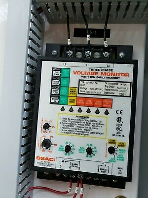 Ssac 3phase Voltage Monitor