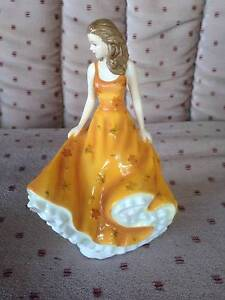 ROYAL DOULTON  PRETTY LADIES COLLECTION FIGURINE Padstow Bankstown Area Preview