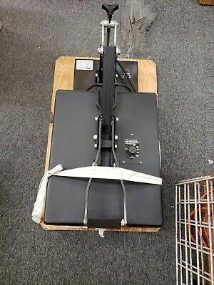 Hix Presto 20 Heat Press 16 X 20 - Heats Up Quickly-handle Works Good